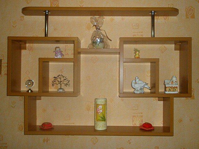 Полки для кухни навесные своими руками фото 39