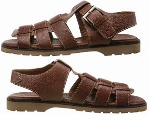 Flat 70% Off on Florsheim Men's Leather Sandals and Floaters worth Rs.2995 for Rs.898 Only @ Amzon