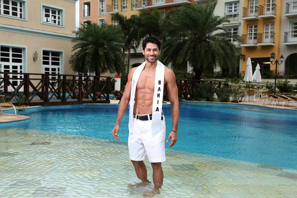 Mister Bahia - Rony Duarte, 26 anos, 1,80 m  - Foto: Leonardo Rodrigues