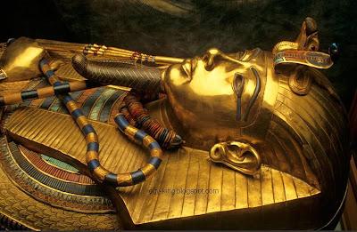 بحوث وأبحاث عن الملك توت عنخ آمون - la recherche Roi Tut