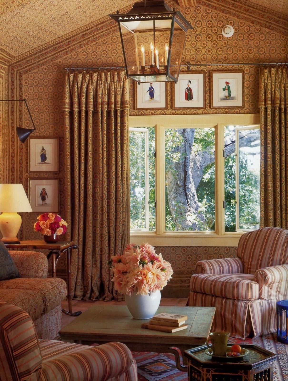 L 39 architetto delle meraviglie renzo mongiardino for Belle case arredate