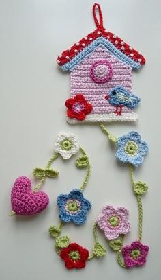 Entrehilos y algo m s pinterest crochet Crochet home decor on pinterest