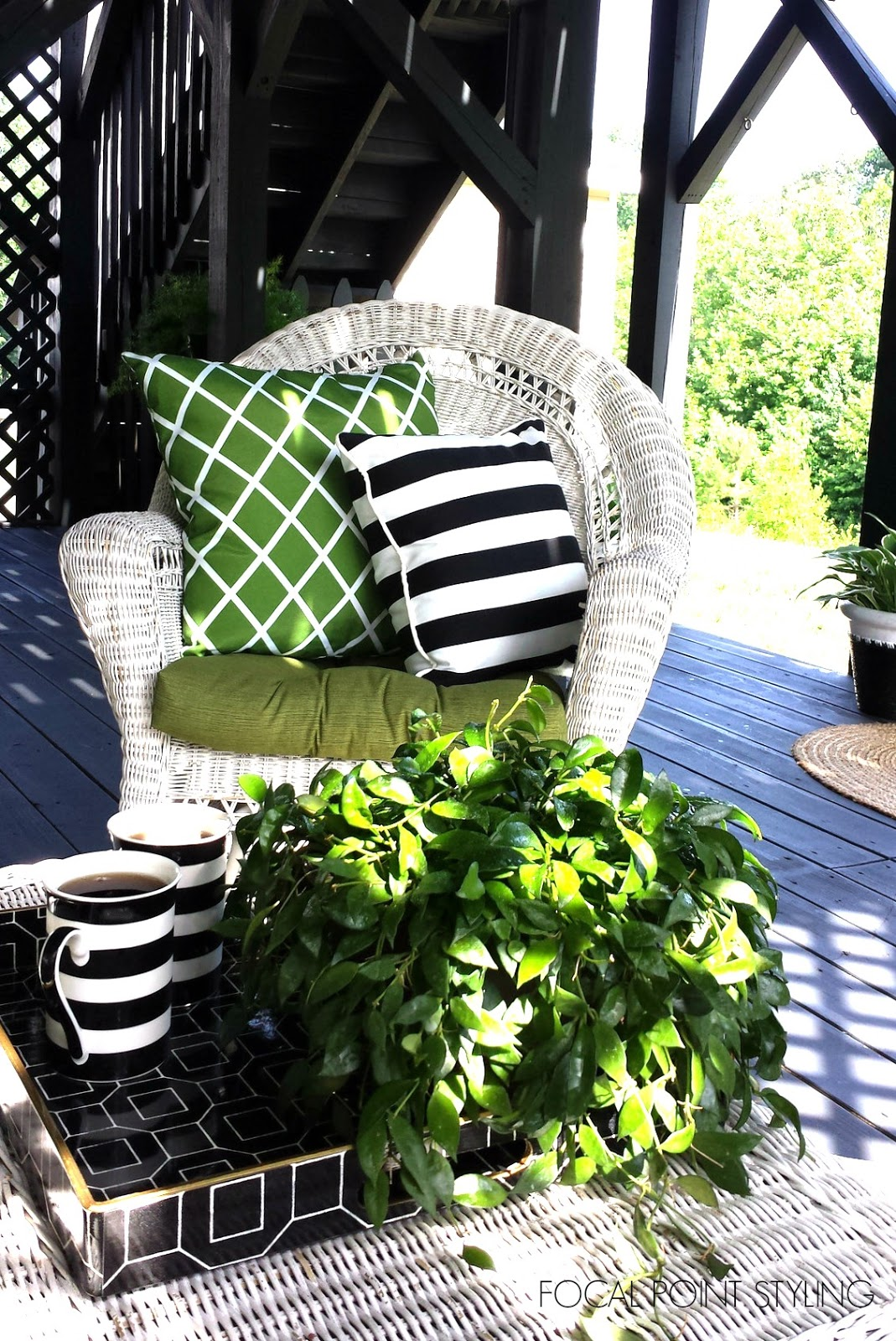 focal point styling easy outdoor decorating mixing old u0026 new