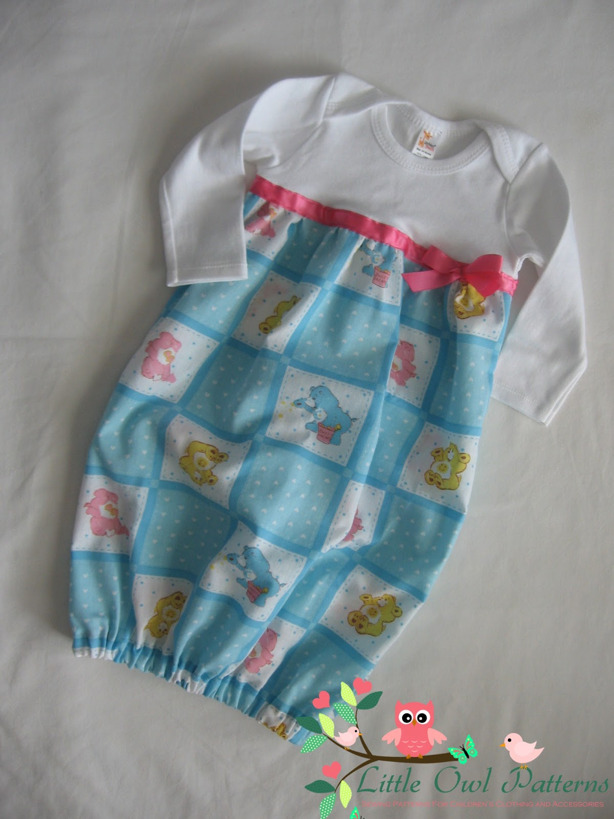 Supermommy!...or not.: Ainsleigh Layette Gown-New Release