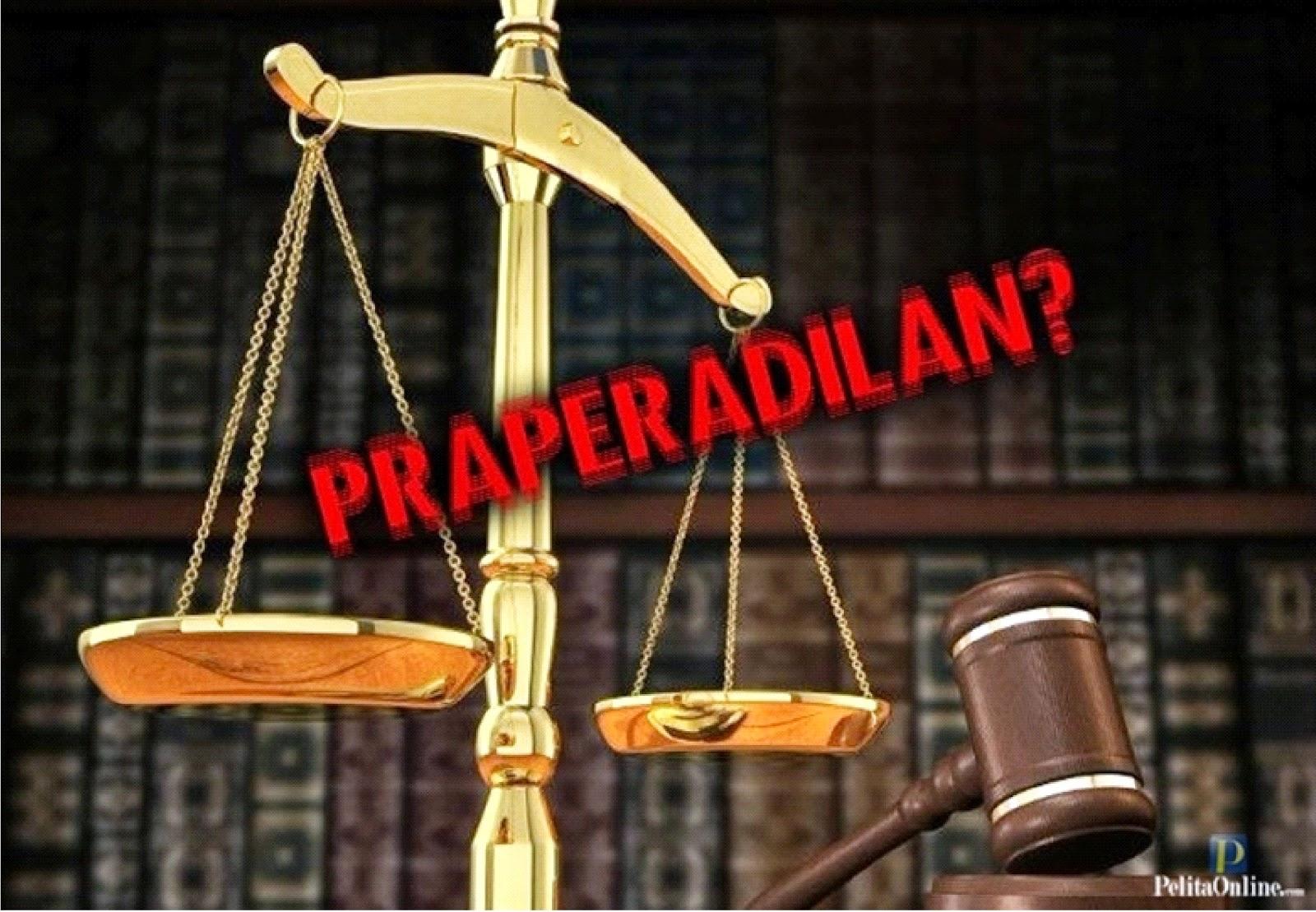 Ditahan, Tersangka Kasus Korupsi Ajukan Praperadilan