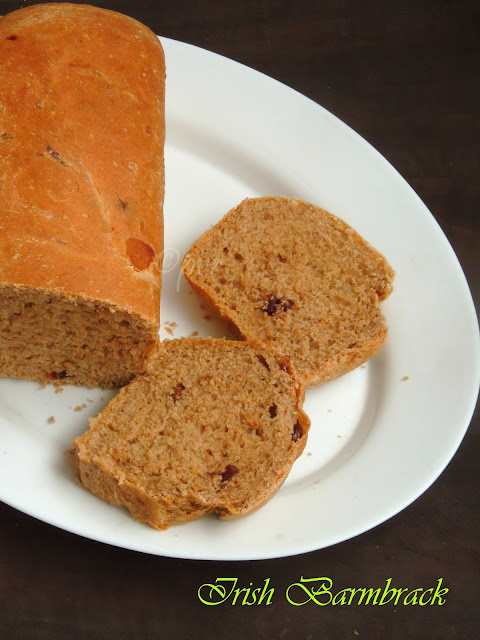Irish Speckled Bread, Halloween Barmbrack