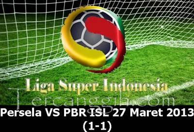 Persela VS PBR ISL 2013
