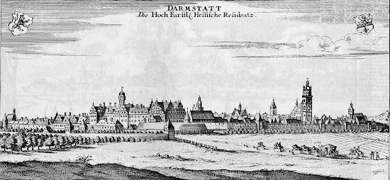 Gabriel Bodenehr (1664-1758) - Darmstadt 1710