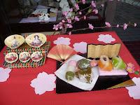 雛祭りといえば和菓子