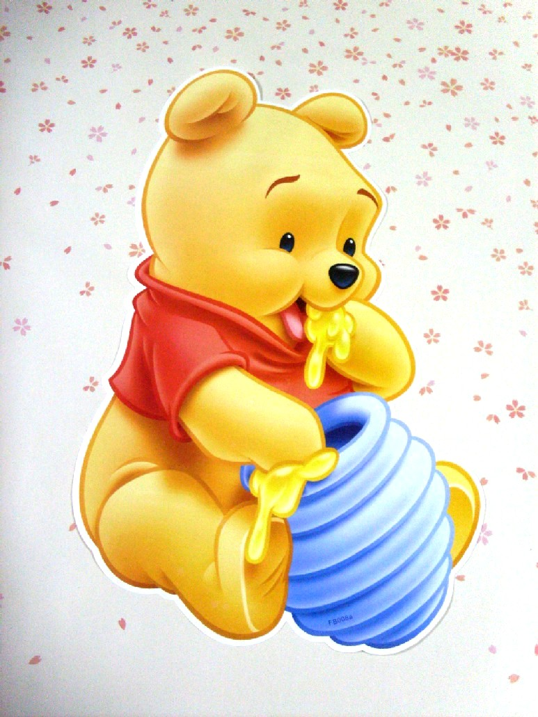 It's just a photo of Effortless Winnie the Pooh as a Baby