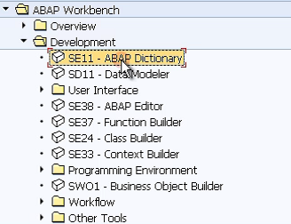 ABAP Dictionary