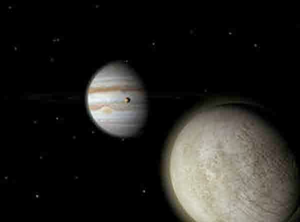 pertemuan dua planet jupiter