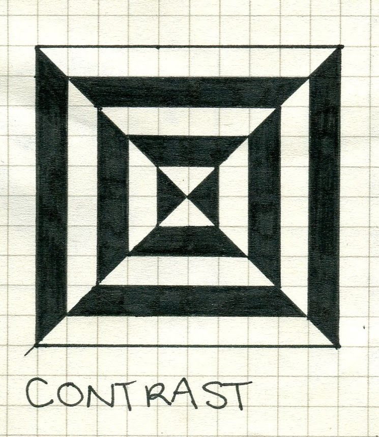 Elements And Principles Of Art Contrast : Design journal principles of