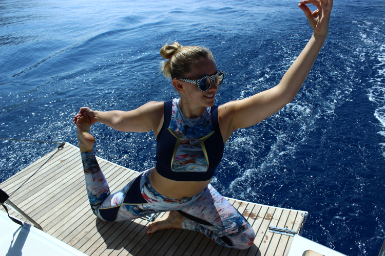 Phoebe Greenacre, Wood and Luxe, Yoga