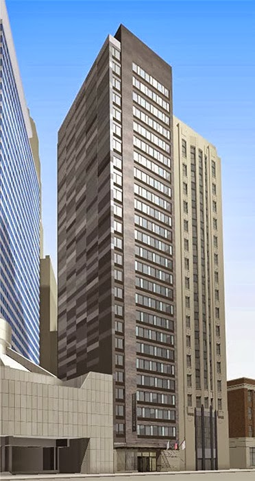 Architecturechicago plus windows we don 39 t need no - Hilton garden inn grand ave chicago ...