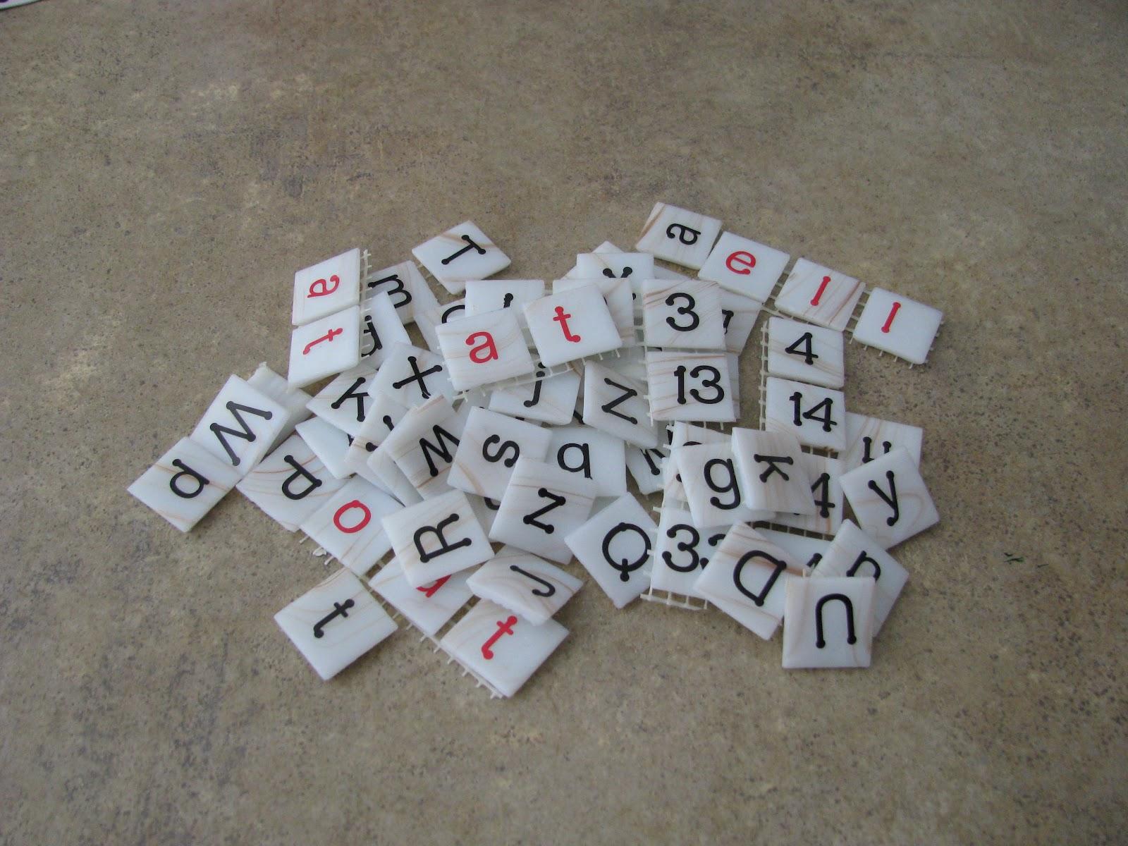 Mosaic Letter Tiles Timiznceptzmusic