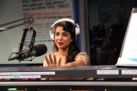 Priyanka spotted at 102.7kiisfm With JoJo