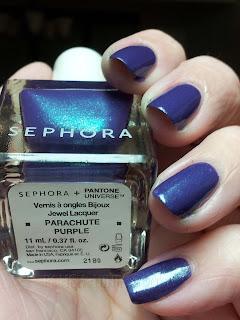 Pantone Universe + Sephora Parachute Purple