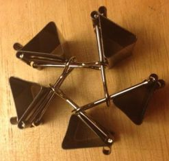 bentuk segilima dari binder clip