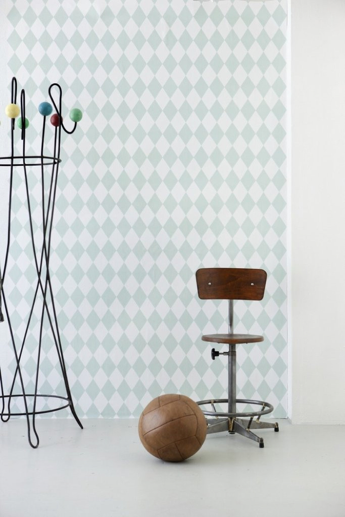 ferm living kids room wallpaper