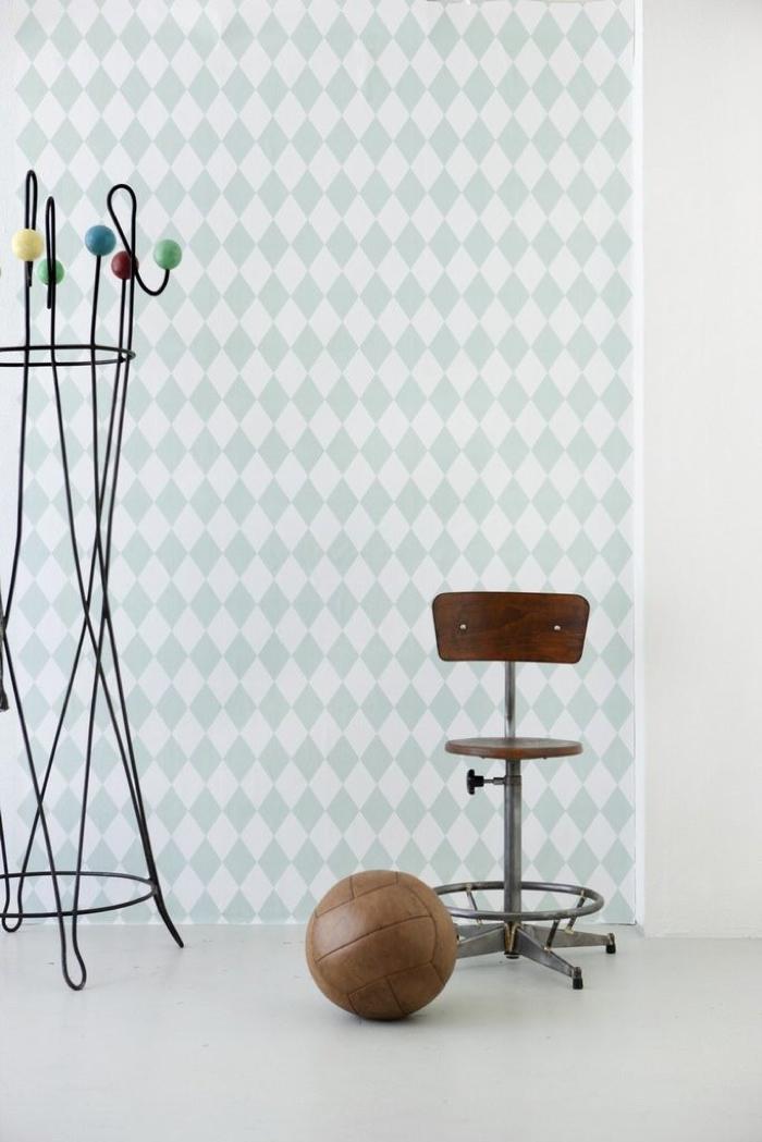 ferm living kids room wallpaper
