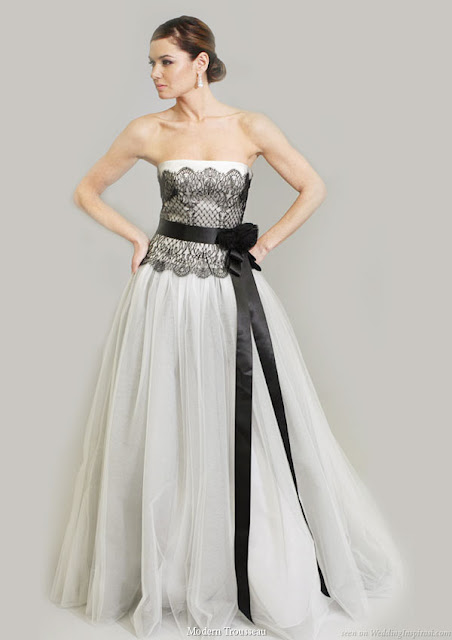 And the last one with black lace and sash which one is your favorite