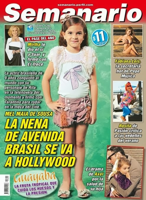 ... telenovela del momento y firmó con Tarantino para rodar en la meca
