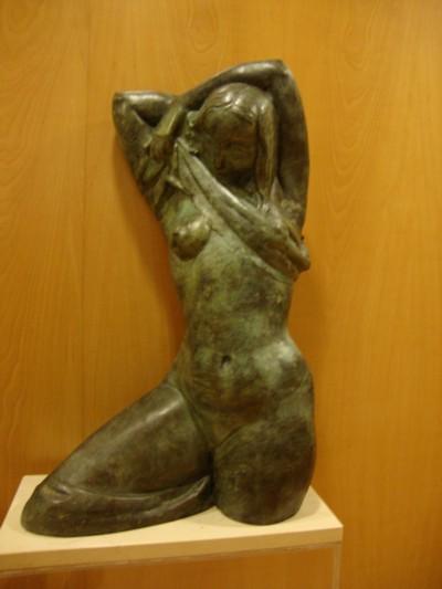 Patrimonio popular esculturas en interiores salamanca for Oficinas caja duero salamanca