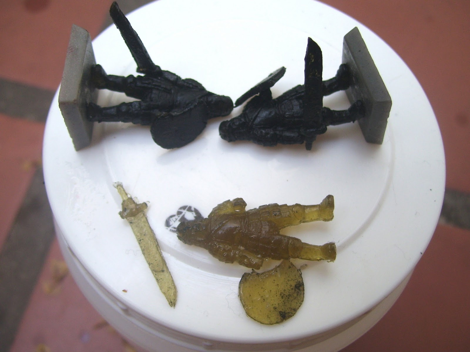 Itlerion creaciones primer test de molde con caucho de for Caucho de silicona
