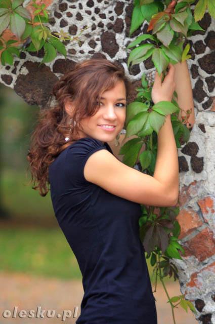 Martyna Zaręba, park Arkadia