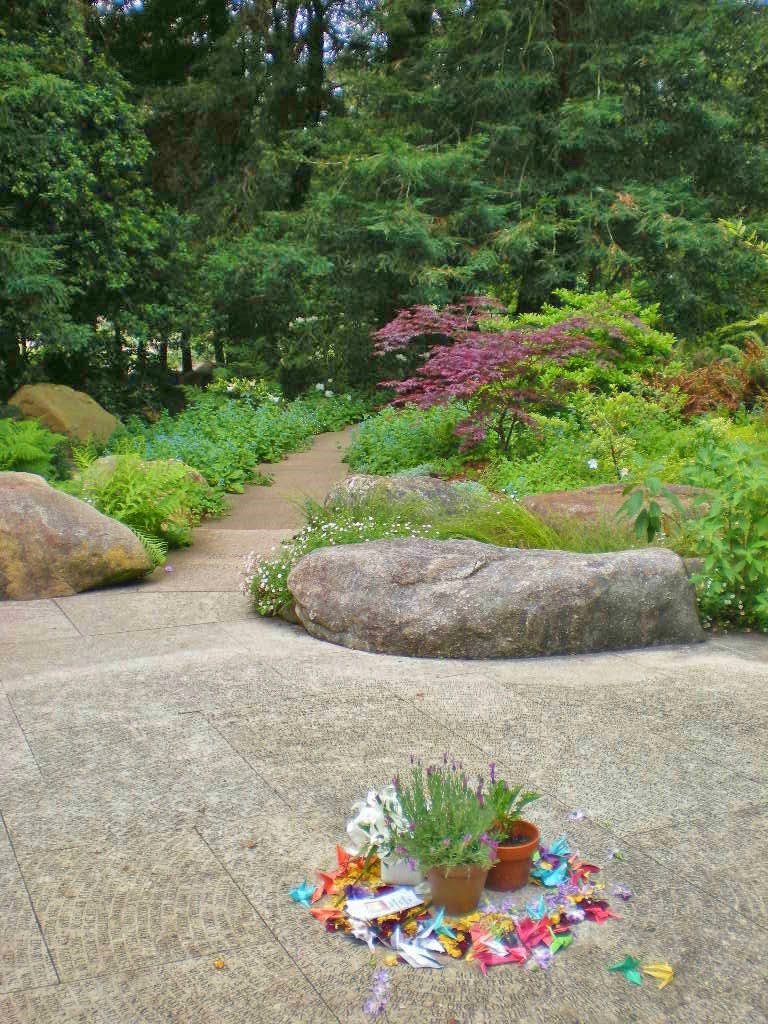 Seattle Urban Landscape National AIDS Memorial Grove