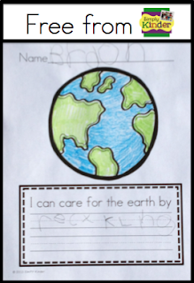 Earth Day for Kindergarten Free Earth Day Activity  Simply Kinder
