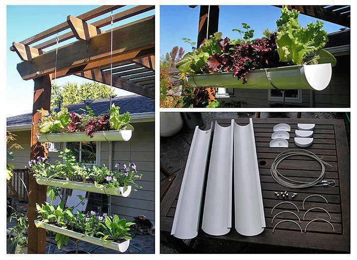 horta jardim vertical:Sposata!: Ideias para o lar