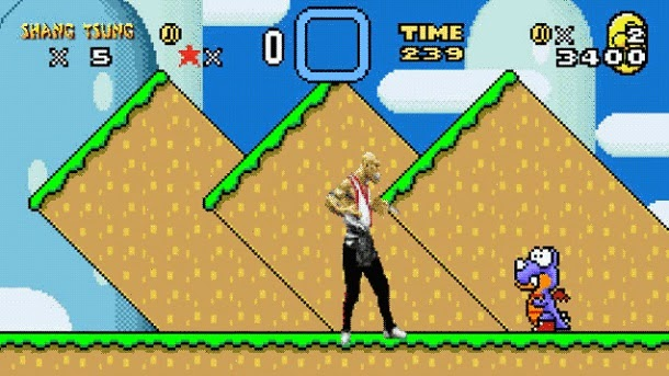 Mortal Kombat invade Super Mario World (com videos)