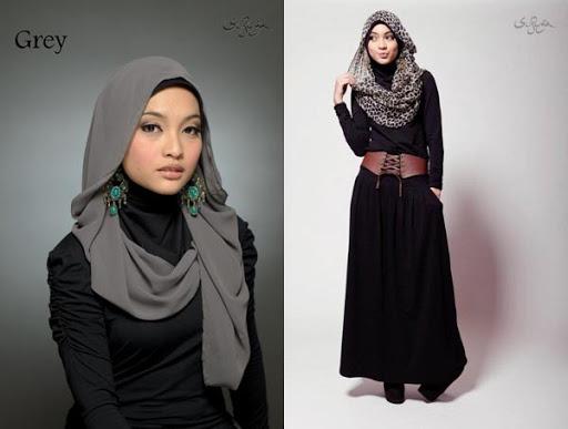 Model Baju Kerja Muslimah Terbaru 2017 dan 2018