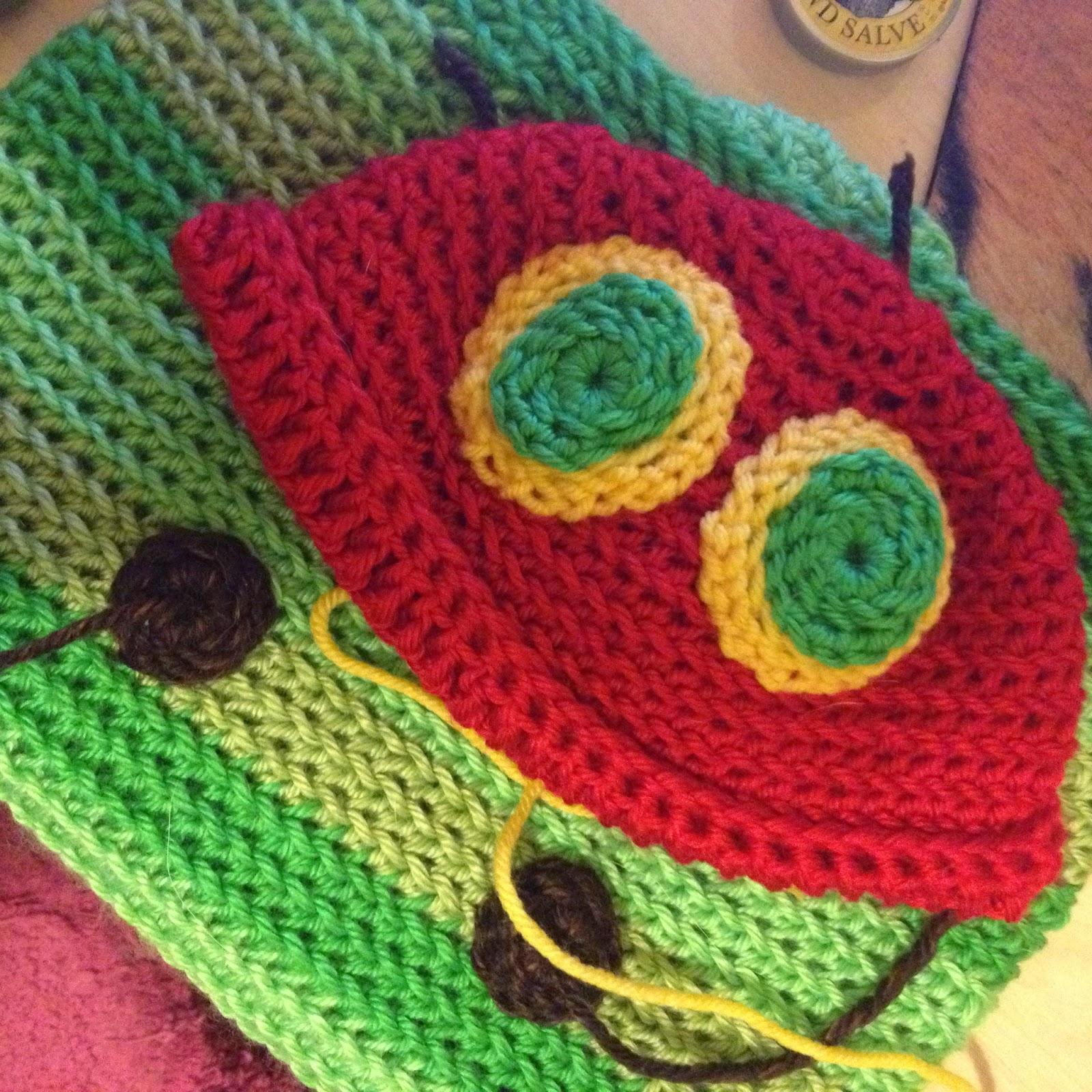 Knitting Pattern Very Hungry Caterpillar : WoollyRhinoCrafts: Very Hungry Caterpillar Crochet Baby Costume