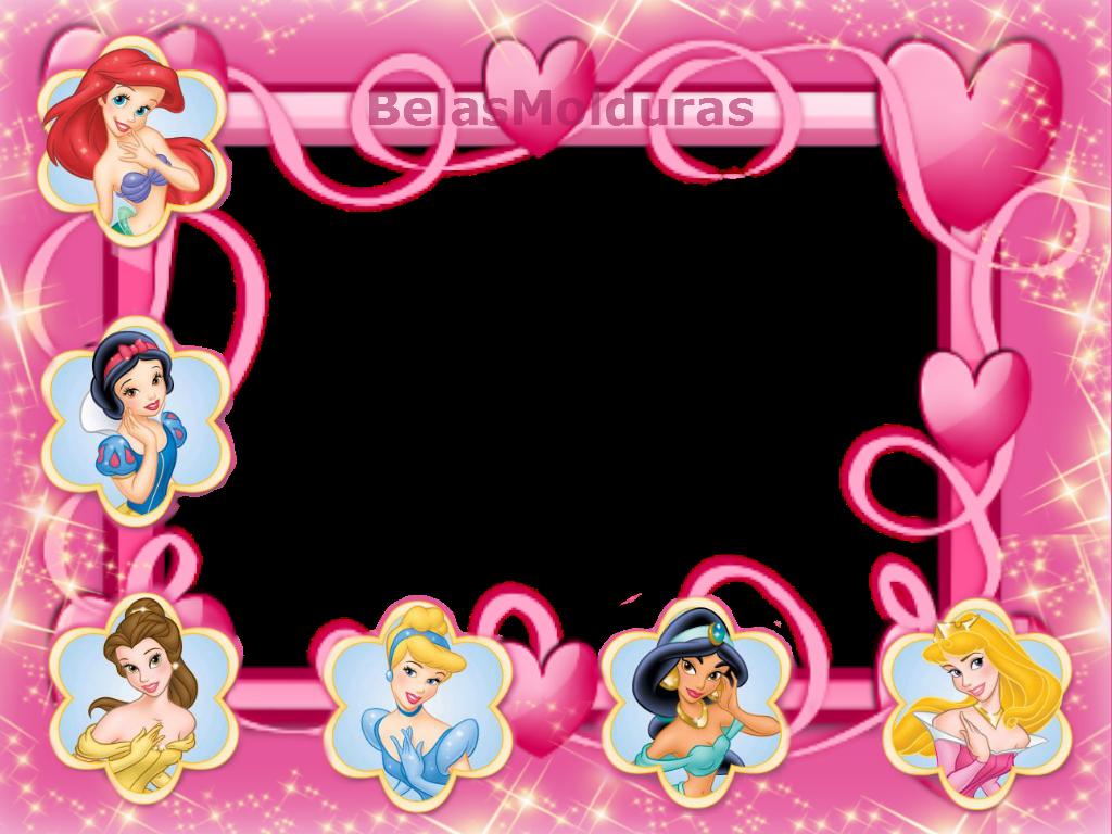 Marcadores  Calend  Rios 2012   Meninas   Princesas Disney