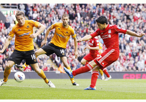 Home of football stars liverpool vs wolverhampton for Home zone wallpaper wolverhampton