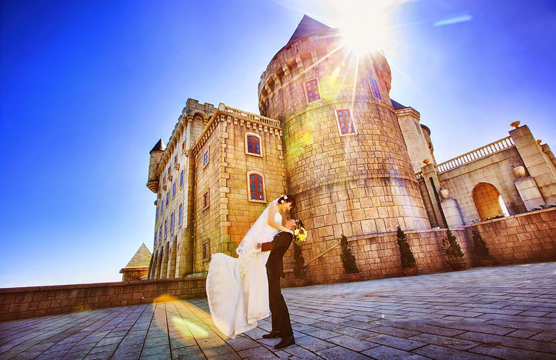 những bức ảnh cưới đẹp tại thành phố biển Đà Nẵng