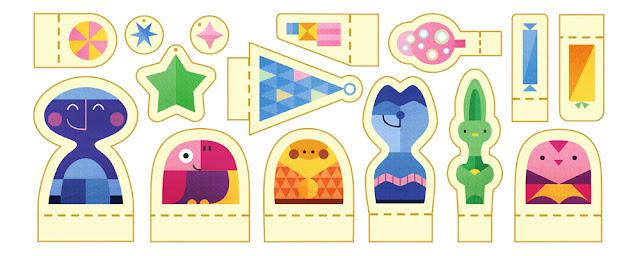 Holidays 2015 (Day 1) - Google Doodle