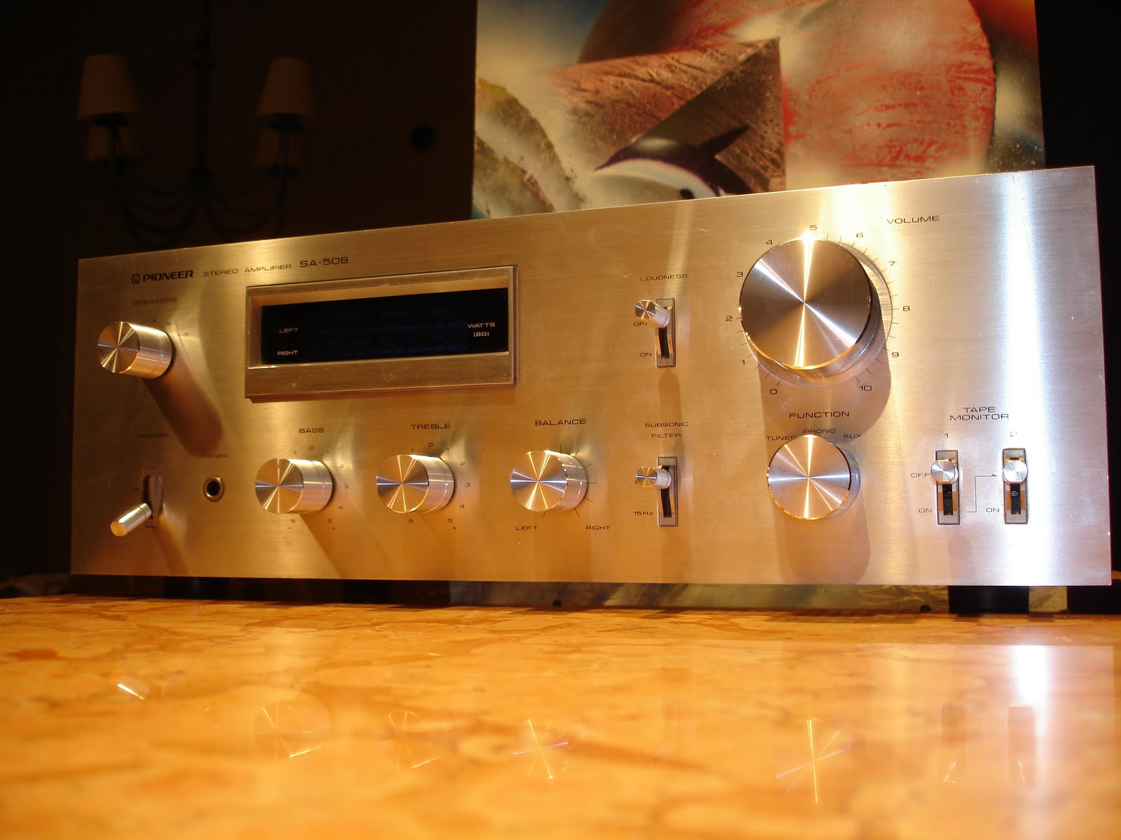 audiogasty pioneer sa 508. Black Bedroom Furniture Sets. Home Design Ideas
