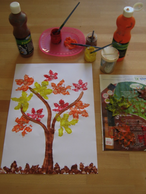 Art and craft autumn ideas easy arts and crafts ideas for Fall ideas crafts