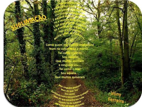 SuBlimação Poema da autora: VÓNY FERREIRA
