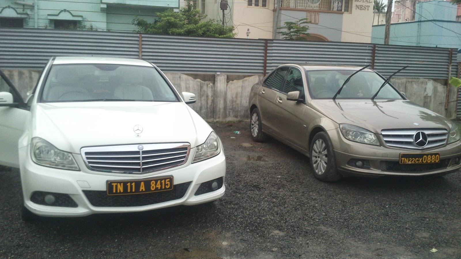 Design car number plates india - Mercedes Benz C Class Self Drive Experience Carzonrent Chennai