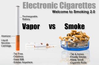 cigarette electronique jetable clignote