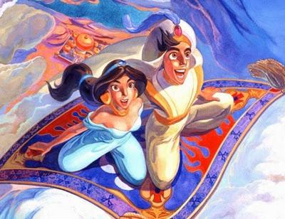 Wallpaper Disney Aladdin cartoon picture