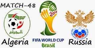 مباراة الجزائر وروسيا اليوم 26-06-2014 كاس العالم بالبرازيل algerie vs russie