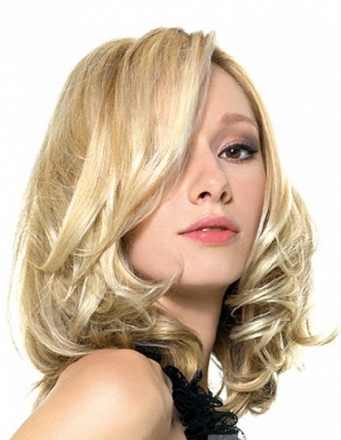 hair style is made from thin medium long hair in this hair cut hair ...