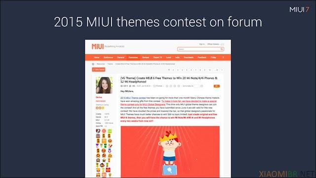 Concurso de temas forum xiaomi