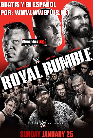 Wwe Royal Rumble 2015 En Vivo